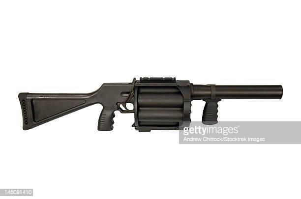 GL6 40mm grenade launcher.