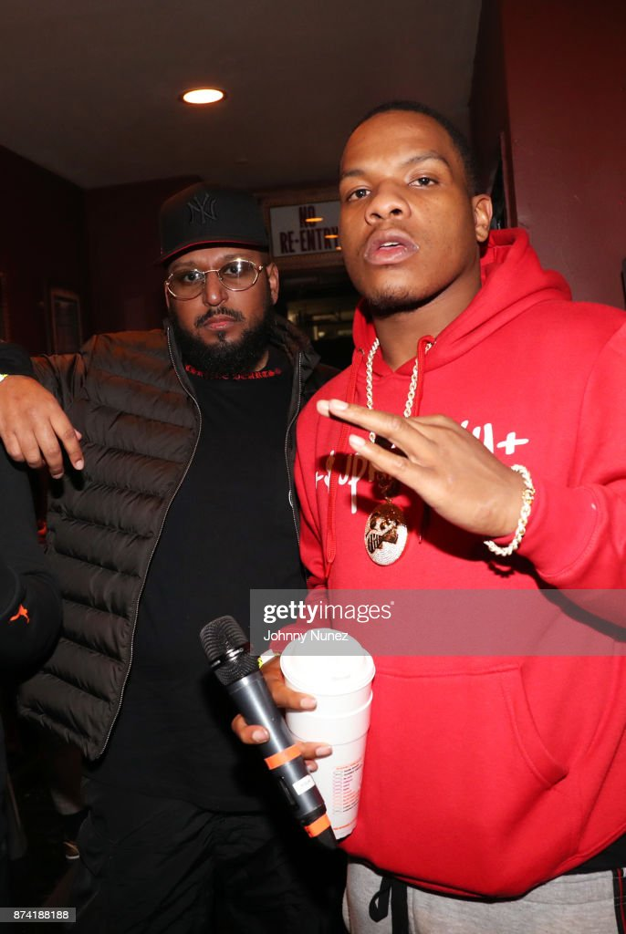 40oz Van and Red Drug attend Gramercy Theatre on November 13, 2017 in New York City.