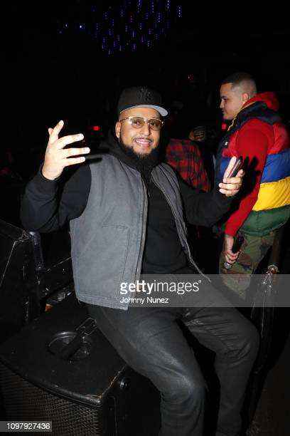 40oz Van attends Church On Sundays Hosted By Nicki Minaj And Phil The Mayor And DJ Clues Birthday Party at The Argyle on February 8 2019 in Hollywood...