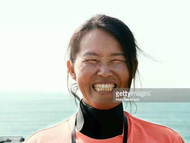 40s woman portrait - スポーツ  ストックフォトと画像