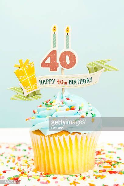 Tremendous 40Th Birthday Cakes Stock Pictures Royalty Free Photos Images Personalised Birthday Cards Arneslily Jamesorg