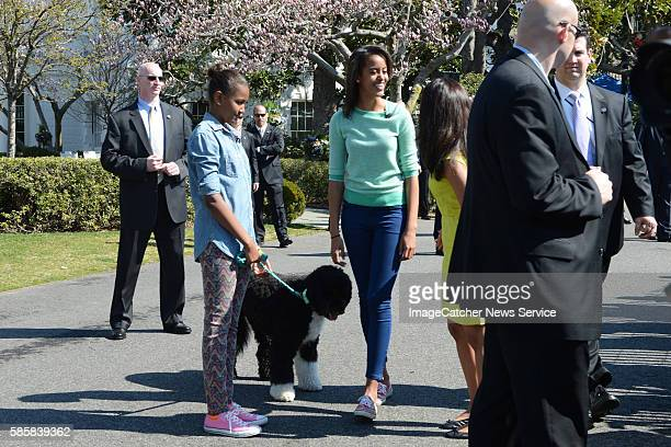 The White HouseWashington DC President Barack Obama and the First Family host the annual Easter Egg Roll on the South Lawn of the White HouseSasha...