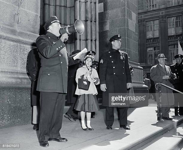 4/1/1956New York NYORIGINAL CAPTION READS With one and a half million New Yorkers jamming Fifth Avenue in today's traditional Easter Parade it's...