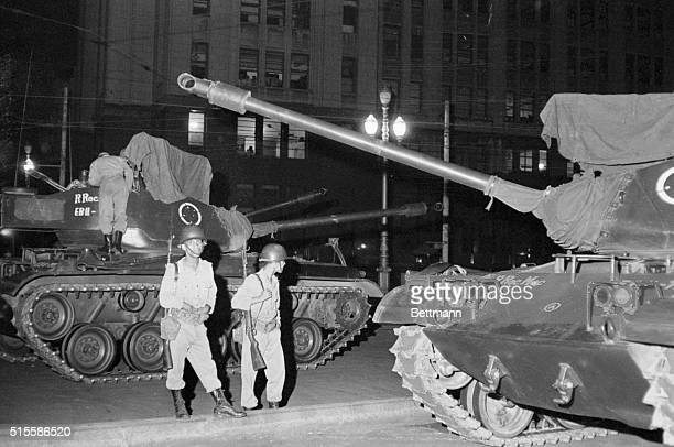 4/1/1964Rio de Janeiro BrazilTroops manning medium tanks guarded the War Ministry throughout the night as rumblings began against the leftistleaning...