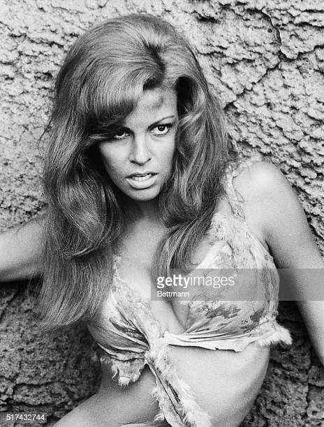 4/14/1967Canary IslandsRaquel Welch star of Twentieth Century Fox's 'One Million Years BC' faces the horrors of the unknown while travelling across...
