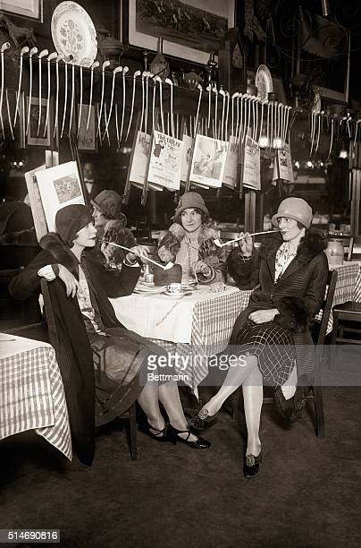4/15/1926New York NY Working on the theory that their grandmothers enjoyed their pipe and bowl girls are forming a pipe smokers club and it is yet...