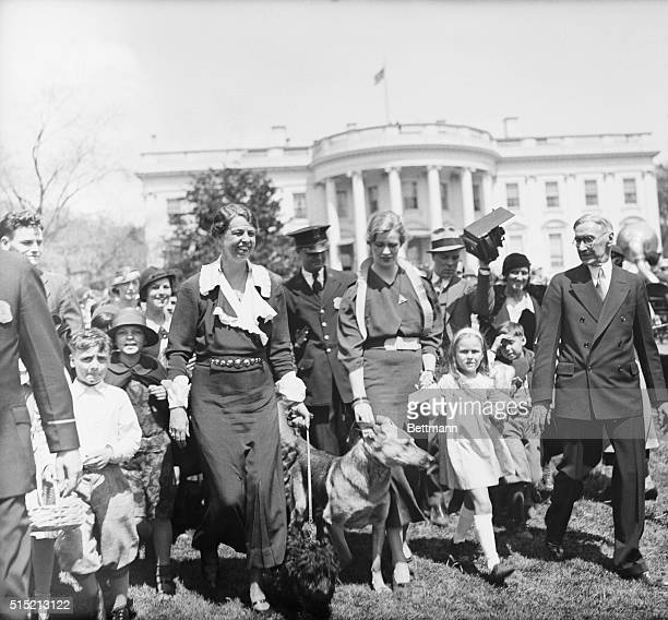 4/17/1933Washington DC Easter Monday the lawn of the White House was crowded with the participants in the annual Easter Egg rolling festival The...