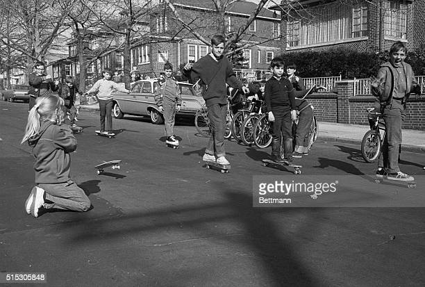 4/17/1965New York NY Changes occur in every area of life and games and amusements are no exceptions In this photo made in a suburban New York...