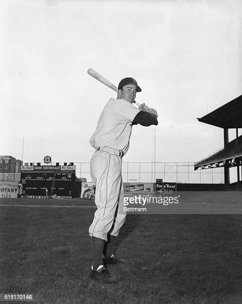 4/1948Portrait of Duke Snider Brooklyn Dodgers outfielder posing in batting stance