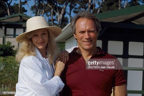 Rendezvous With Clint Eastwood Le 41ème Festival de CANNES se déroule du 11 au 23 mai plan de face souriant de Clint EASTWOOD avec sa compagne Sandra...