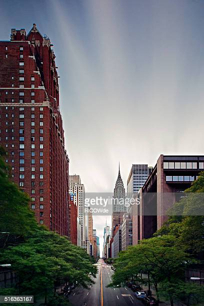 E 42nd St, Long Exposure, New York City