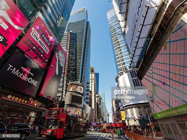 42nd street in New York