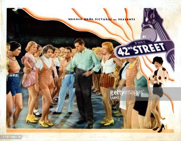 42nd Street lobbycard from left Una Merkel Ruby Keeler George E Stone Warner Baxter Ginger Rogers 1933