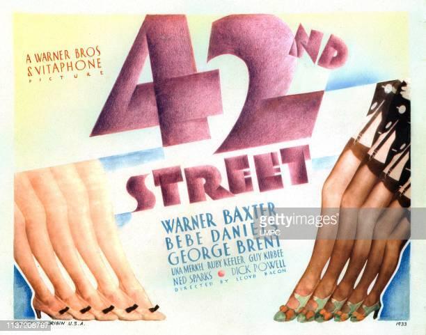 42nd Street lobbycard US poster 1933