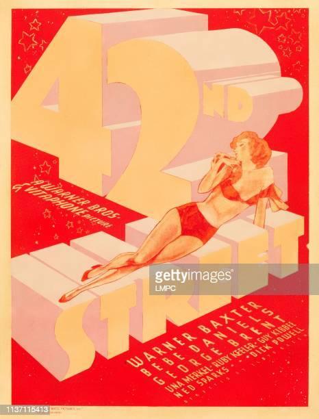 42nd Street poster US window card 1933