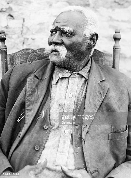 4/30/1926Fort Worth TX Photo shows John Hickman venerable old Negro of 106 years who still in his tumbled down shanty lives in the memories of the...