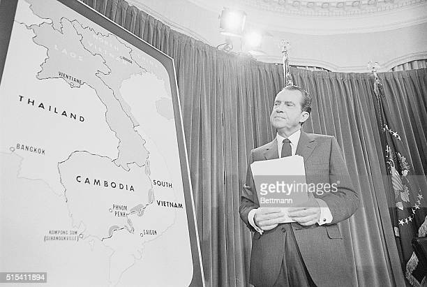 4/30/1970Washington DCIn a TV speech to the Nation from the White House President Nixon announced that several thousand American ground troops have...