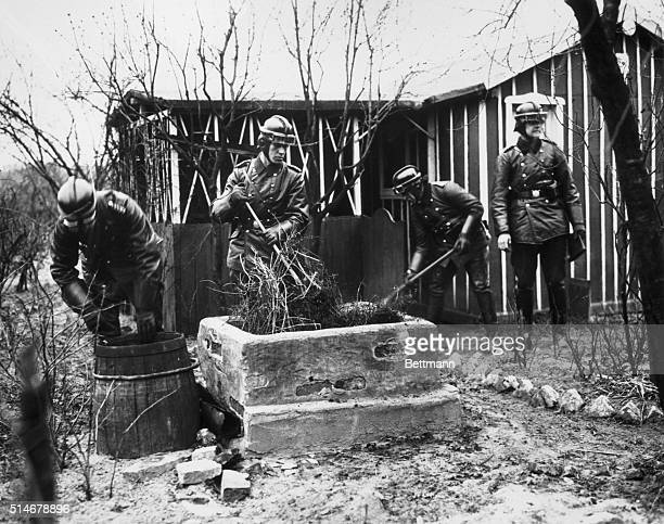 4/3/1933Berlin Germany German Police raid Jewish homessearching for documents and fire arms Berlin police conduct a thorough and complete...