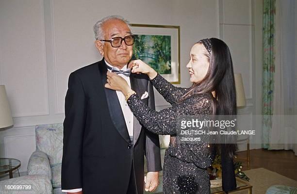 43rd Cannes Film Festival 1990 A Tribute To Akira Kurosawa Le 43ème Festival de CANNES se déroule du 10 au 21 mai 1990 Avant la cérémonie d'ouverture...