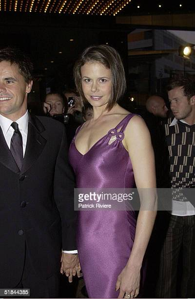 WITH HER HUSBAND ANGUS HAWLEY AT THE 44th TV WEEK LOGIE AWARDS HELD AT MELBOURNE'S CROWN ENTERTAINMENT COMPLEX ON SUNDAY APRIL 28