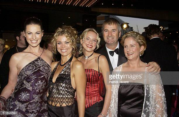 S DAUGHTERS LISA CHAPPELL BRIDIE CARTER JESSICA NAPIER JOHN JARRATT AND SONIA TODD AT THE 44th TV WEEK LOGIE AWARDS HELD AT MELBOURNE'S CROWN...