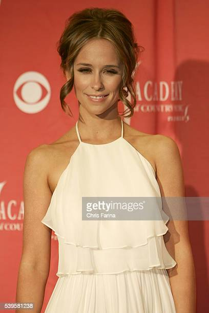 Las VegasNevada Jennifer Love Hewitt in the press room during the 44th Annual Academy of Country Music Awards held at the MGM Grand Garden Arena in...