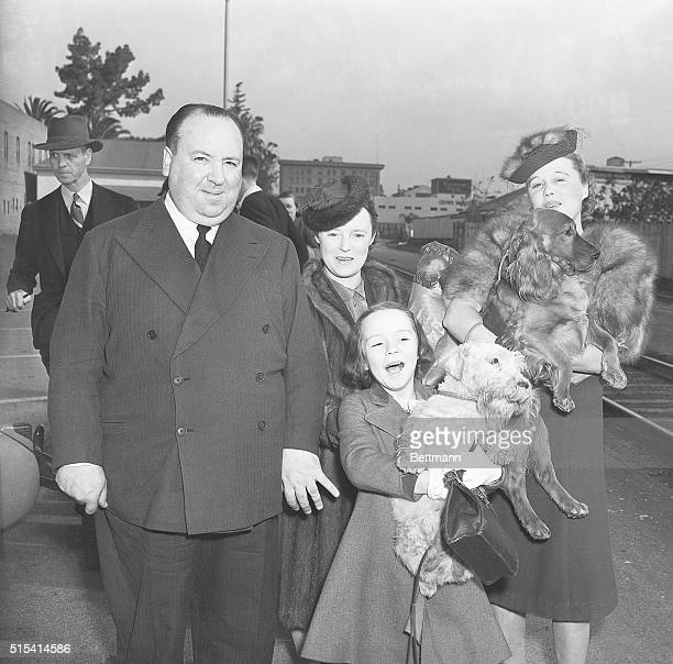 4/5/1939Hollywood CAOne of England's leading film directors Alfred Hitchcock arrives in Hollywood with his family to work with Seznick Int'l Studios...