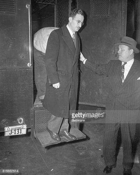 4/5/1951New York City Julius Rosenberg 32yearold engineer and his wife Ethel arrive at Federal Court where they were sentenced to the electric chair...