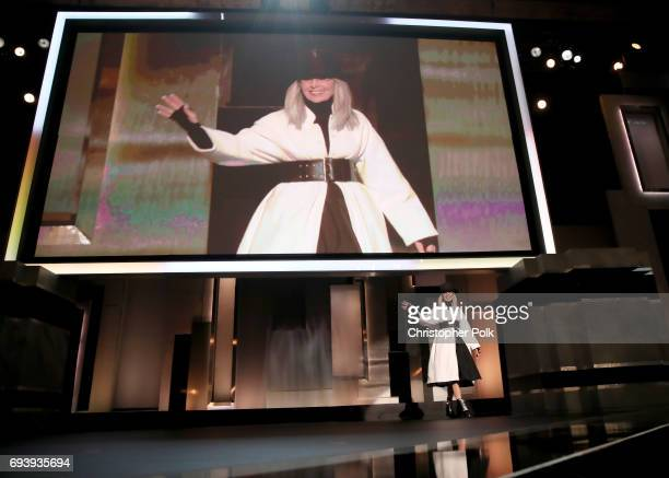 45th AFI Life Achievement Award Recipient Diane Keaton speaks onstage during American Film Institute's 45th Life Achievement Award Gala Tribute to...
