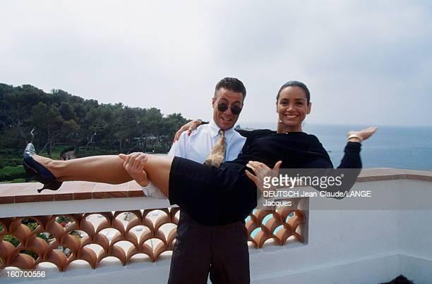 45th Cannes Film Festival 1992 Rendezvous With Jeanclaude Van Damme Le 45ème Festival de CANNES se déroule du 7 au 18 mai 1992 JeanClaude VAN DAMME...