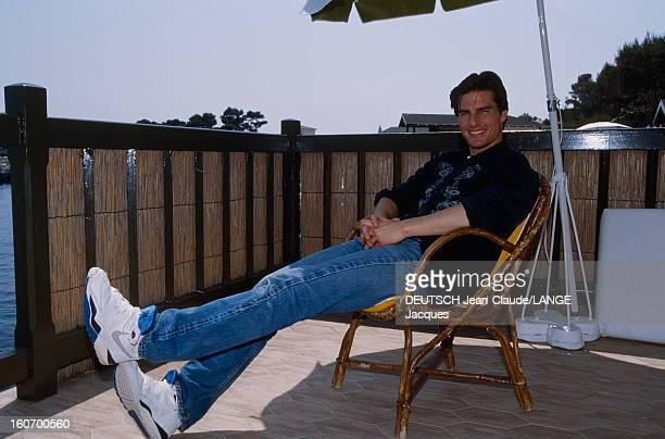 45th Cannes Film Festival 1992 Rendezvous With Tom Cruise And Nicole Kidman Le 45ème Festival de CANNES se déroule du 7 au 18 mai 1992 plan de face...