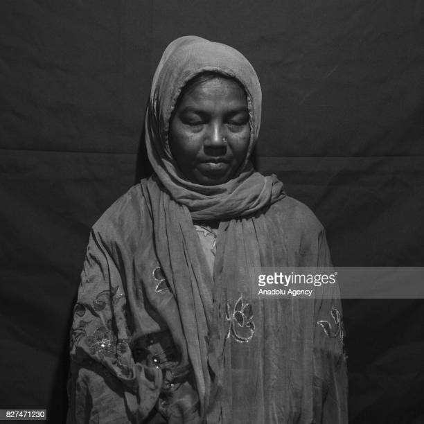 A 45yearold Rohingya woman Amina whose husband had lost his life while protecting her and their 4 children during violent incidents on 2012 at...