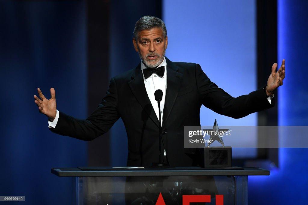 American Film Institute's 46th Life Achievement Award Gala Tribute to George Clooney - Show : Nachrichtenfoto