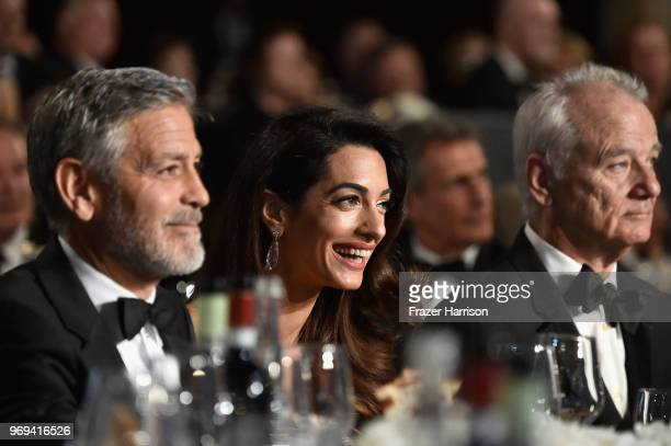 46th AFI Life Achievement Award Recipient George Clooney Amal Clooney and Bill Murray attend the American Film Institute's 46th Life Achievement...