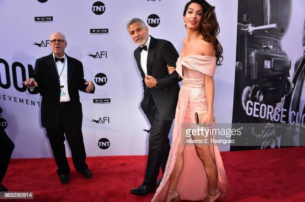 46th AFI Life Achievement Award Recipient George Clooney and Amal Clooney attend American Film Institute's 46th Life Achievement Award Gala Tribute...
