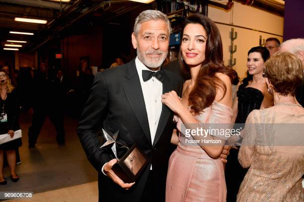 46th AFI Life Achievement Award Recipient George Clooney and Amal Clooney attend the American Film Institute's 46th Life Achievement Award Gala...