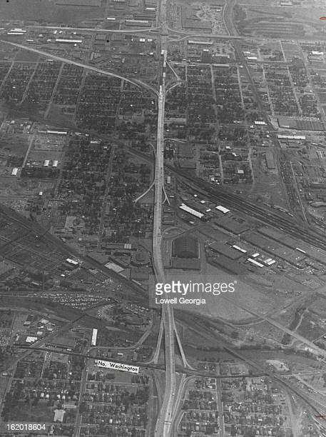 MAY 18 1964 MAY 22 1964 E 46th Ave Freeway Gets Longer The Colorado Highway Department recently opened to traffic an additional 10 blocks of the E...