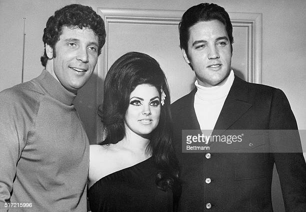4/7/1968Las Vegas NV Britain's hottest current singing star Tom Jones often compared to the early Elvis Presley in style and appeal to femininity...