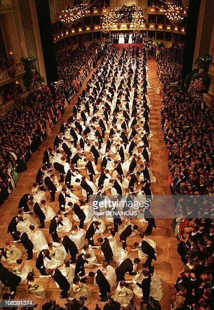 47th Bal Of L'opera in Vienna Austria on February 01 1998