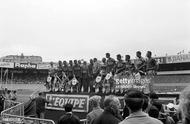 47Th Tour De France 1960. Juillet 1960 47ème tour de France . Le vainqueur est Gastone NENCINI italien; Arrivée du tour de France à Paris le 17...