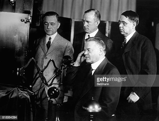 4/8/1927Washington DC On April 7th television was inaugurated as a successful achievement of scientific research For the first time men sat in New...