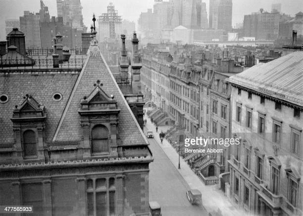 48th Street Near Fifth Avenue Midtown Manhattan New York City New York circa 1930