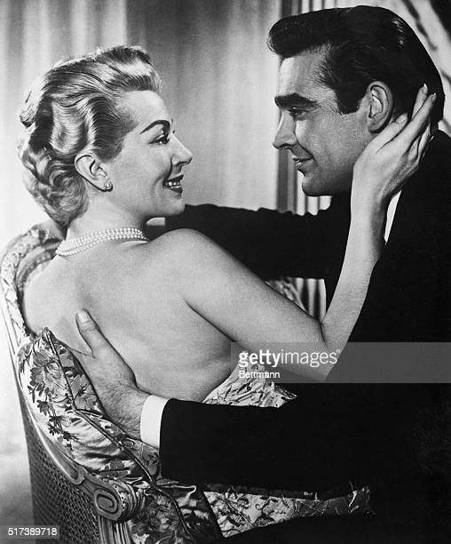 4/9/1958Hollywood CAActress Lana Turner and British actor Sean Connery are shown in a scene from their latest movie Another Time Another Place which...