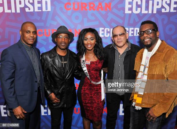 SF 49er Darryl Pollard Tony Tony Tony artist D'Wayne Wiggins Miss Liberia SF Event Promoter Dave Guingona and Recording Artist Martin Luther attend...