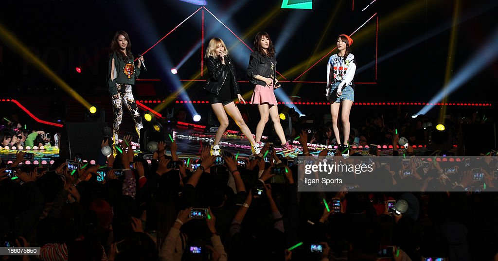4minute perform onstage during the GS & Concert 2013 at