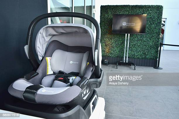 4moms Products On Display During The Car Seat Launch Event At Petersen Automotive Museum