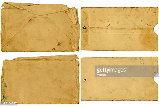 4-Pack of Grungy Envelopes