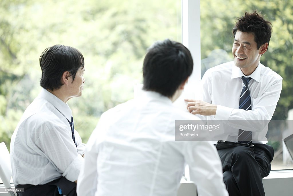 4Person Business Man : Stock Photo