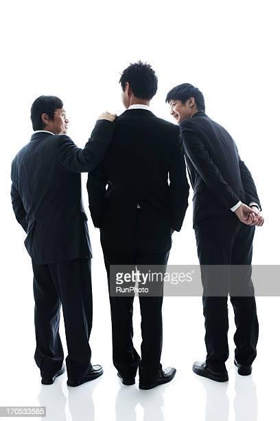 4person business man studio