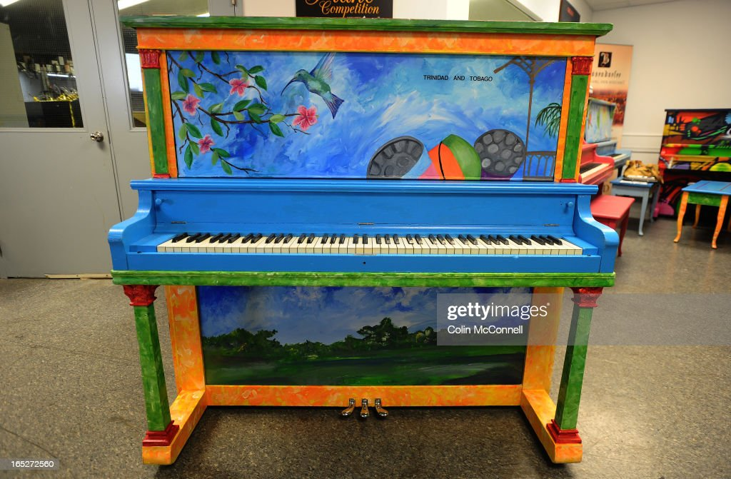 JULY 4th 2012 pics of   This is trinidad and tobago  Painted pianos